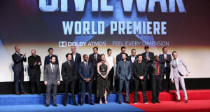 Cast e Crew Civil War World Première