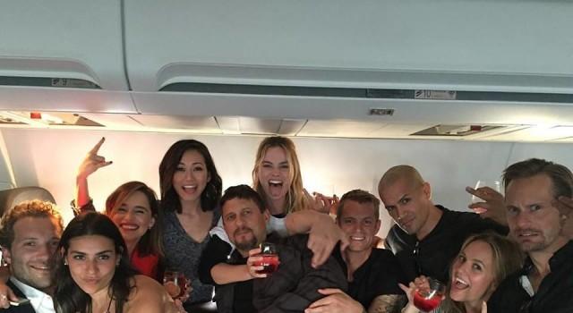 Suicide Squad CinemaCon aereo