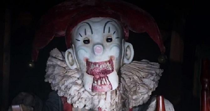 Un clown mangia bambini.. non poco inquietante!