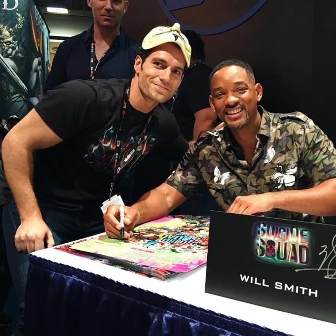 Henry Cavill e Will Smith