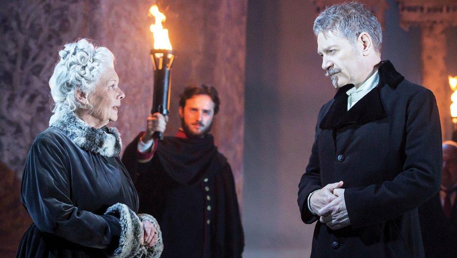 "Judi Dench e Kenneth Branagh in ""The Winter's Tale"""