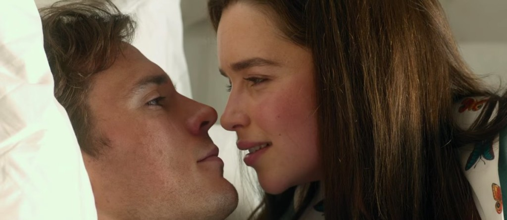 Gli intensi Emilia Clarke e Sam Claflin
