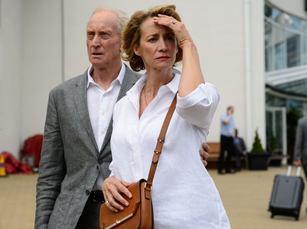 Charles Dance con Janet McTeer