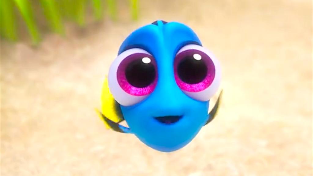 La dolcissima Dory da piccola