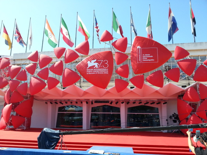 Red carpet Venezia 73