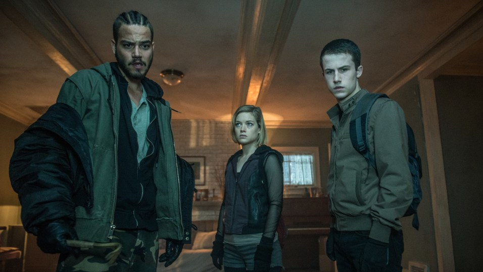 "Daniel Zovatto, Jane Levy e Dylan Minnette, i tre ladruncoli di ""Man in the Dark"""