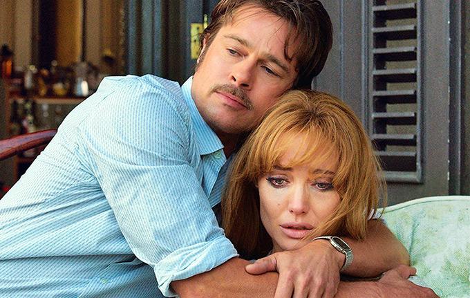 """Brad Pitt e Angelina Jolie in """"By the Sea"""""""