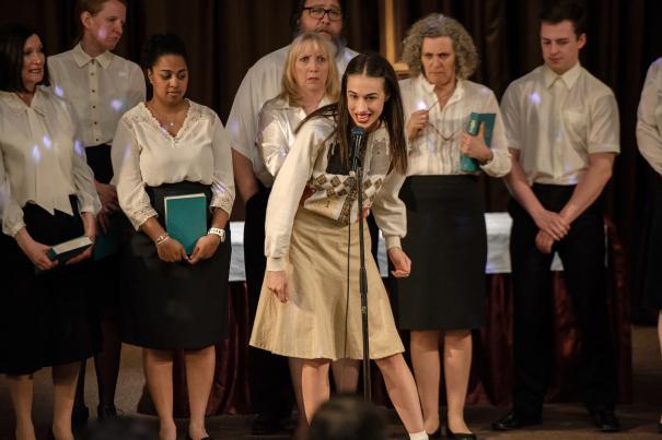 Quando Miranda cantò in un coro