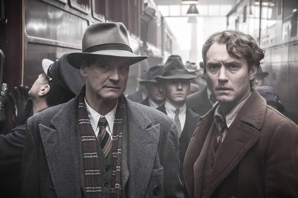 Colin Firth e Jude Law sono rispettivamente Max Perkins e Thomas Wolfe