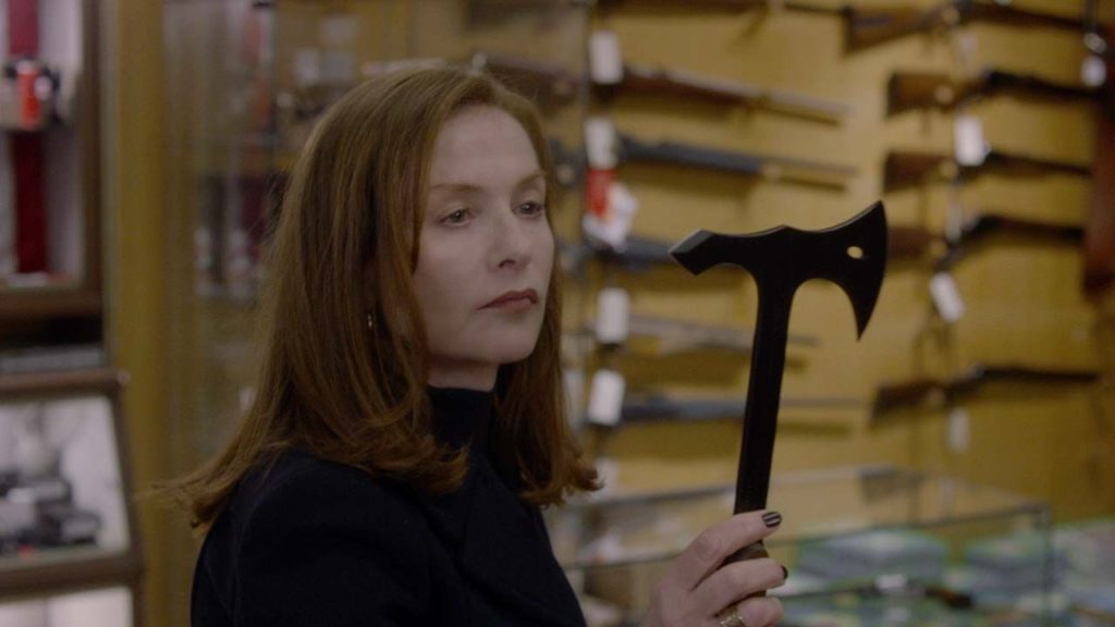 La sempre superba Isabelle Huppert