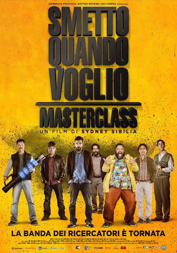 poster smettoquandovoglio-masterclass