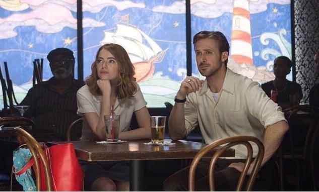 Ryan Gosling con Emma Stone
