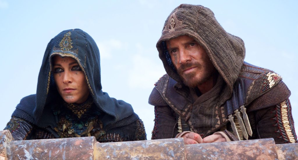 Michael Fassbender e Ariane Labed